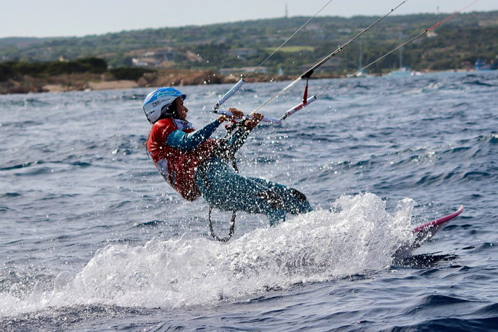kyte en action au défi inter île en corse