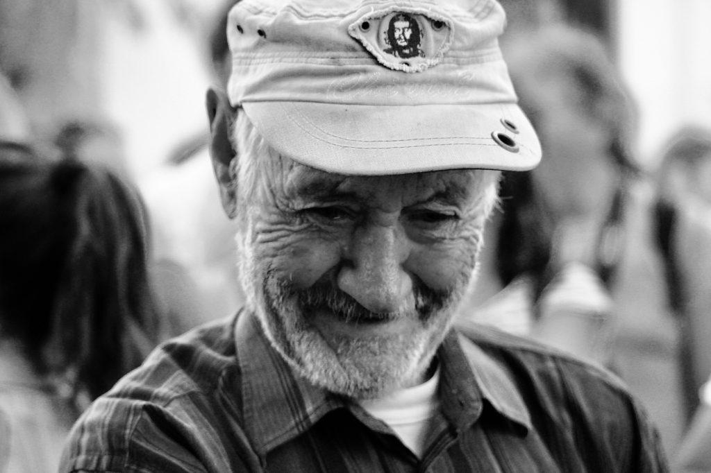 portrait de vieillard en grece